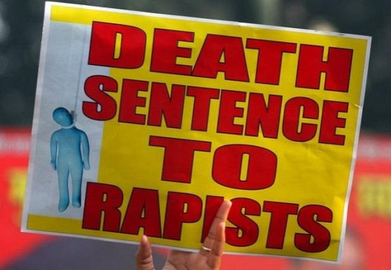 Public showered praises to Tripura Court for giving death penalty to Rapists
