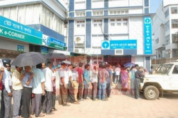 3 lakhs 90 thousand people suffering due to unpaid Social Pensions in Tripura !