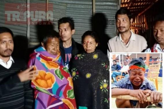 Financial support by TIPRA organization to Manoranjan Debbarma