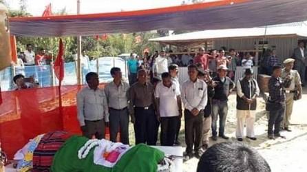 Tripura's 7 time MP, veteran CPI-M leader Bajubian Reang passed away. TIWN Pic Feb 22