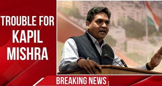 Defiant Kapil Mishra questions comparison with terrorists