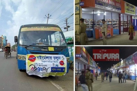 After Flop Book Fair on Day-1, BJP Govt dedicates a Bus for Free service for Book Fair Passengers, BJP claims, 'Historical Decision' : Book-sellers, Publishers heavily resented on Govt's Tughlaqian decisions causing losses