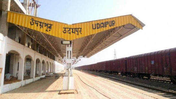 COVID19 positive patient had traveled from Agartala to Udaipur on 19th March via Train