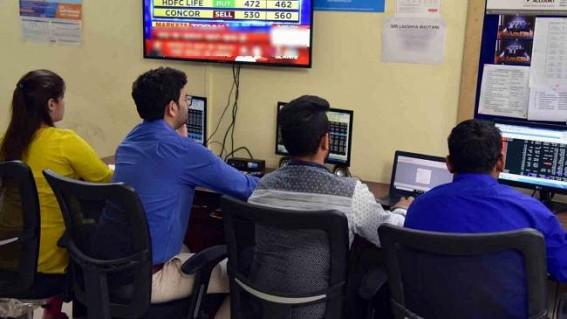 Stock market turn green, Sensex up 700 points