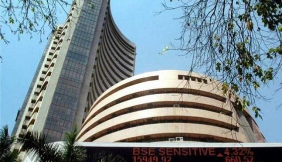Sensex slumps 1,000 points, Nifty ends below 9,000
