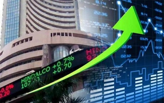Sensex up 400 points, Nifty above 9,400