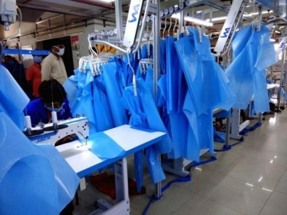 RIL spearheads India's efforts in PPE manufacturing