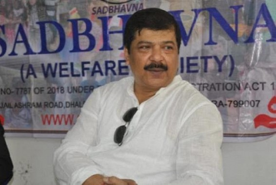 Ex-Health Minister Sudip Barman condemned BJP goons brutal attack on DYFI-SFI's Blood Donation Camp
