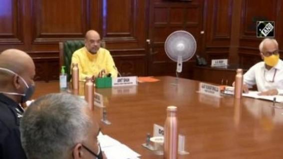 'Cyclone Nisarga': Shah holds meet with Guj, Maha CMs