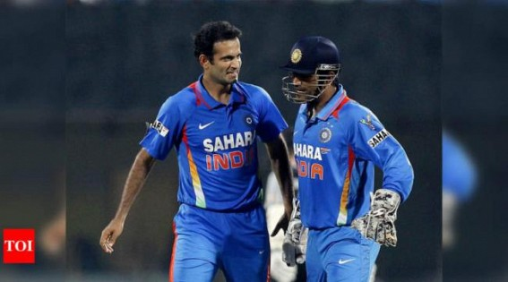 Dhoni was much calmer in 2013 CT than 2007 World T20: Irfan