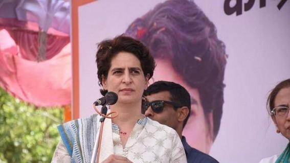 Priyanka Gandhi slams arrest of UP minority cell chief