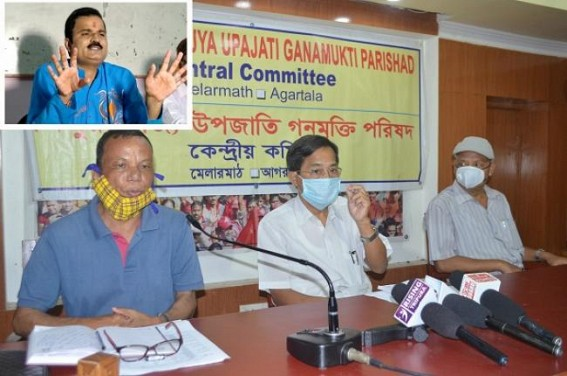 'BJP's Rule-of-Law has been exemplified by its own leader Prasenjit Chakraborty' : Jitendra Choudhury