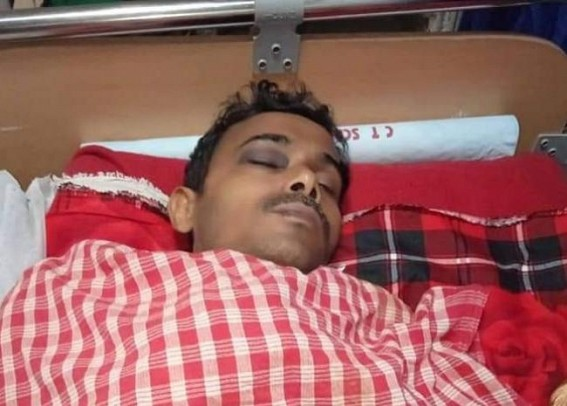 Physically challenged 10323 teacher, wife beaten by miscreants