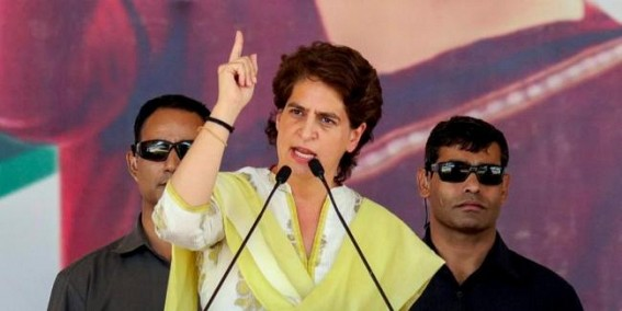 UP govt trying to cover up massive unemployment through ads: Priyanka