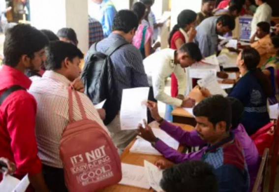 1 year age relaxation in recruitment for Unemployed, who became 'overage' during COVID-19 in Tripura