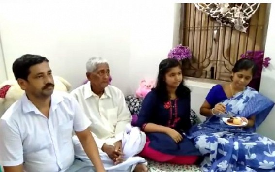 Daughter secured rank in top ten of TBSE Madhyamik amid father's termination from job in 10323 case