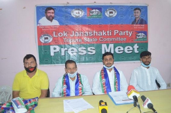 Lok Janashakti party asked the State government to relax Electricity Bill of last 3 months