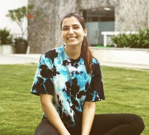 Samantha Akkineni and her pet pooch have 'a case of Covid blues'