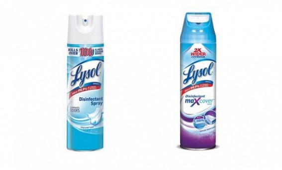 EPA approves first 2 cleaning sprays of 'Lysol' that kill the coronavirus in 2 minutes