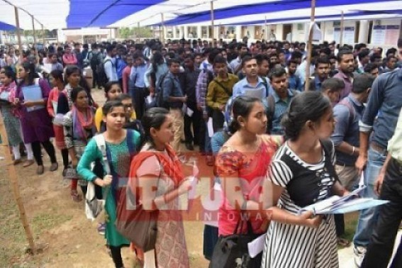 29 months of BJP's rule in Tripura : BJP Govt yet to Speak Openly about its pre-poll 50,000 Govt Jobs in 1 Year promise's failure