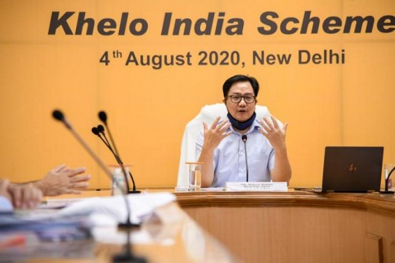 Rijiju urges states to identify infra for KISCE
