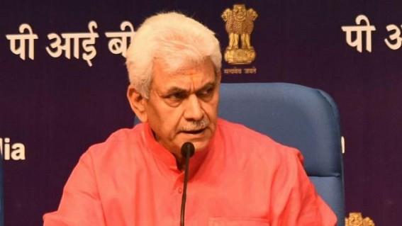 BJP leader Manoj Sinha appointed Lt. Governor of J&K