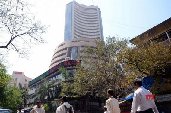 Equity indices in green ahead of RBI policy announcement