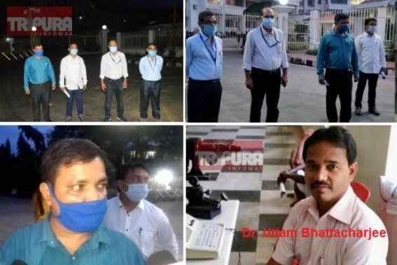 After Doctors Protest, Public Outrage, TIWN Editor's Condemnation, Tripura BJP Govt was forced to withdraw Dr Uttam Bhattacharjee's suspension : Multiple Doctors were served illegal chargesheets