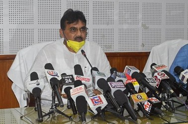 Agriculture Dept held press meet. TIWN Pic Aug 7