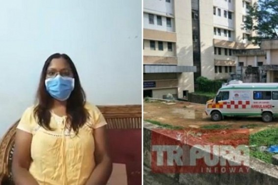 Tripura Origin UK Doctor exposed GB COVID-19 Centre's Pathetic, Dirty, suffocating conditions, much below than 'Sub-Standard' for a COVID Centre, 'Faulty Testing methods'