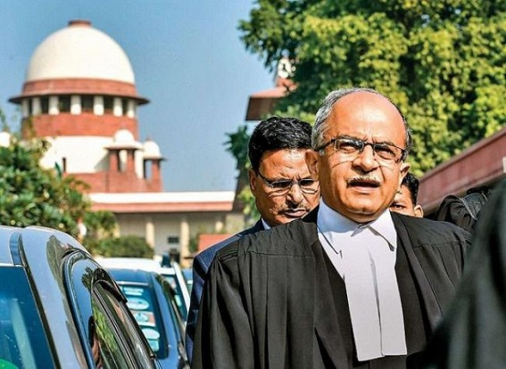 5 Gripping Exchanges Between Prashant Bhushan And Supreme Court Today
