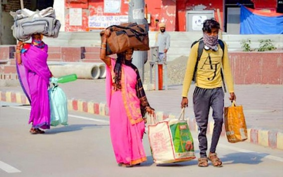 Life crawling towards normalcy for Bihar labourers