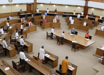 Tripura Assembly held on Monday. TIWN Pic Sep 21