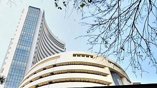 Sensex, Nifty end in red amid volatility, Bharti Airtel down 8%