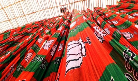 Scuffle among BJP supporters over ticket issue in Patna