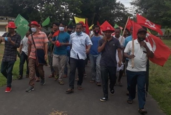 Patichari : BJP's alleged attack in CPIM Rally, many injured