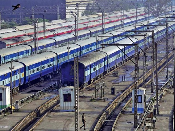 Railways created 12.42L mandays' employment under PMGKRA: Chairman