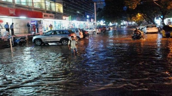 No respite from rain in Hyderabad