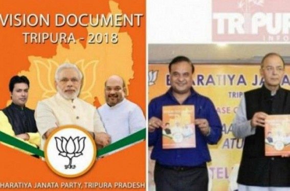 Tripura BJP Govt far from Regularization Promise Fulfillment in Tripura : Uncountable numbers of Contractual employees terminated, still BJP claims 90% of the Vision Document Fulfilled