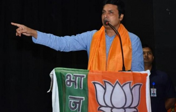 'Will throw CPI-M in Bay of Bengal', claimed CM Biplab Deb