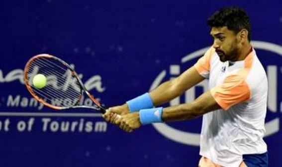 Divij-Bambridge reach quarter-final at Astana Open