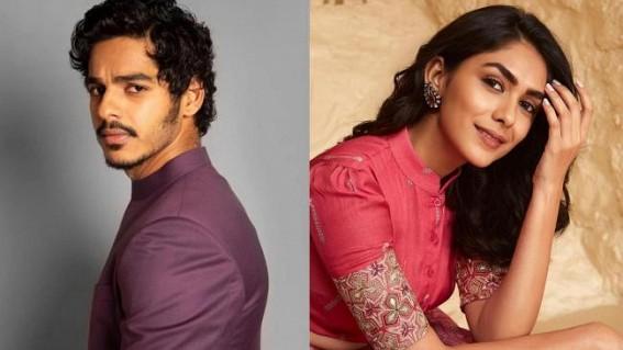 Mrunal Thakur, Priyanshu Painyuli to star with Ishaan Khatter in war drama 'Pippa'