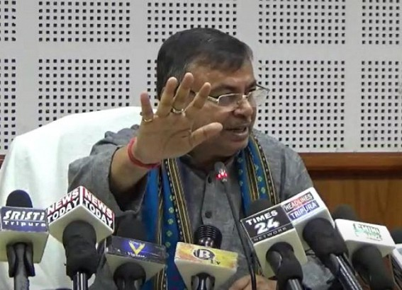 'Newspapers can not publish the exact reports because it's technically backward than Electronic Media' : Claims Tripura Education Minister after State Newspapers started Bold Publications, Exposing Corruptions