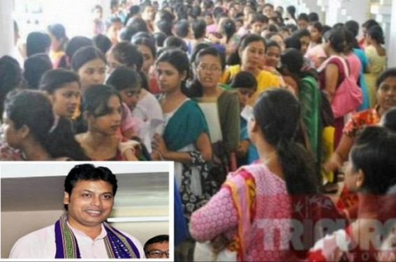 Tripura CM Biplab Deb's latest Lie on Employment Generation has been trolled : Opposition sought publication of 18,500 Recruited Persons' Name-List