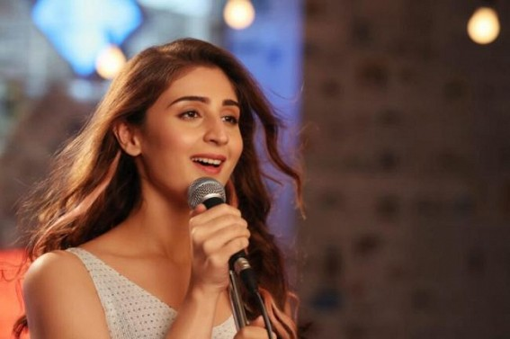 Dhvani Bhanushali starts shooting for her next project