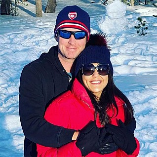 Preity Zinta vacays with hubby, sun, snow and smiles