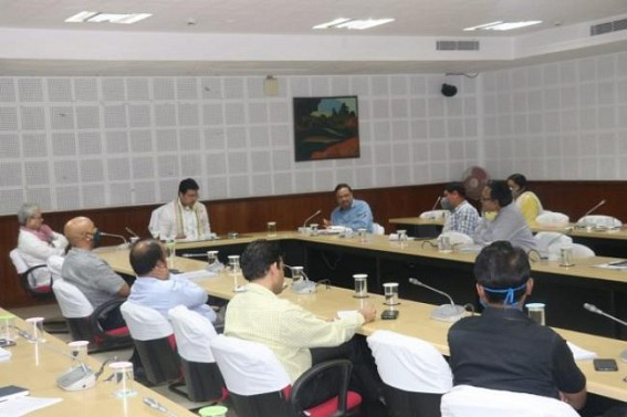 COVID19 : CM, Dy CM conducted meeting with high officials