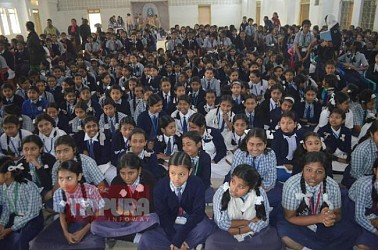 Workshop on Child Rights and Child Safety held in Maharani Tulsibati Higher Secondary Girls School. TIWN Pic Jan 27