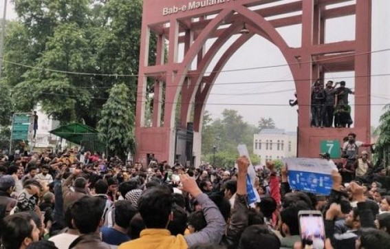 Jamia plans legal action against TV channel for offensive promo