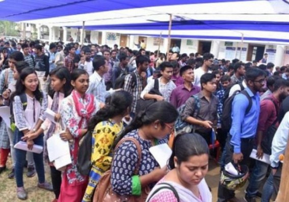 Job-losses economic crisis hit Pandemic Period : No Plan in Tripura to cut unemployment rates so far amid State holding Second Position in Unemployment Rate nationally